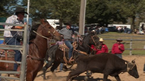 Bob Holder is still competing in rodeo at age 89.