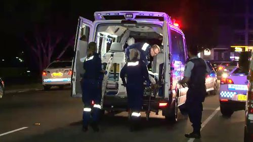 The teen suffered a stab wound to his abdomen as well as lacerations. (9NEWS)
