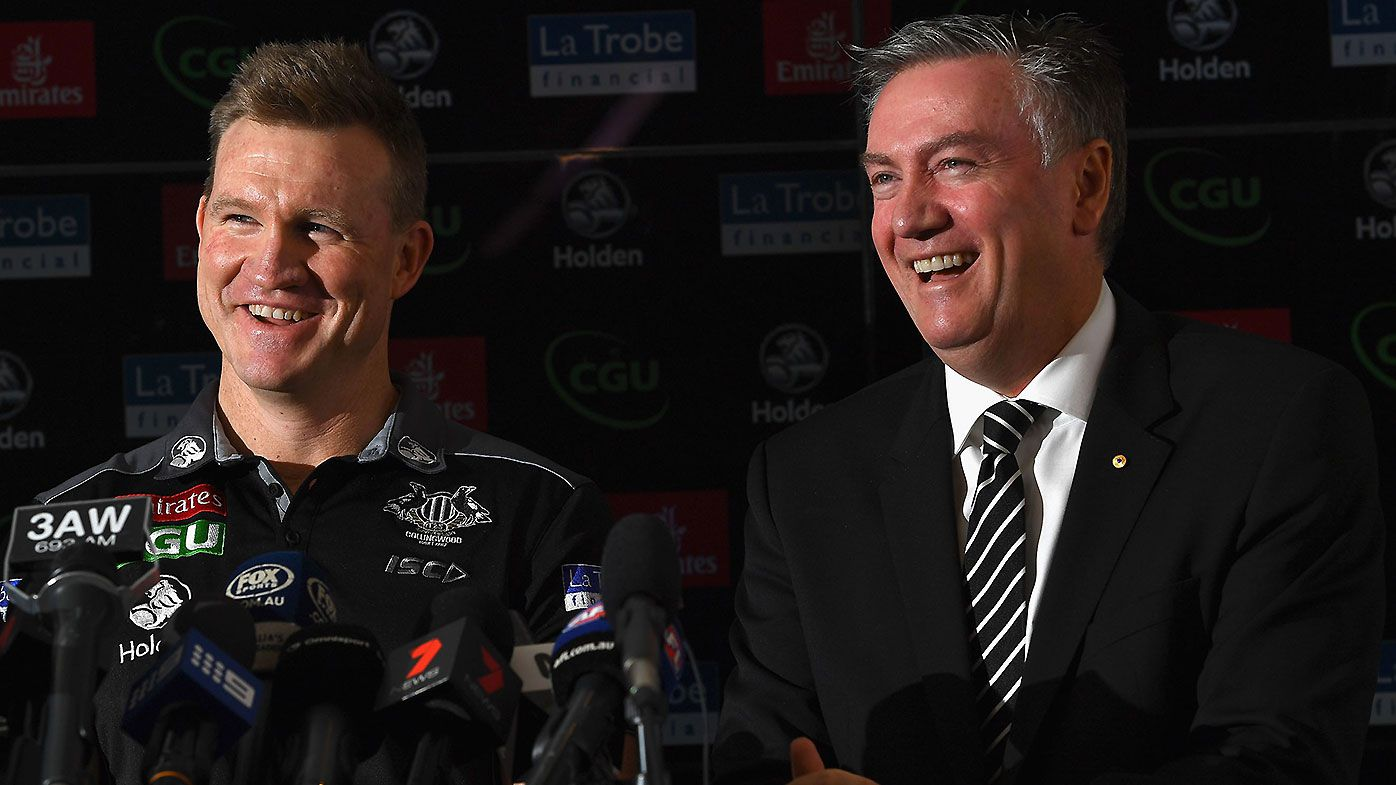 'The end of an era': Eddie McGuire's 'emotional' tribute to outgoing Nathan Buckley
