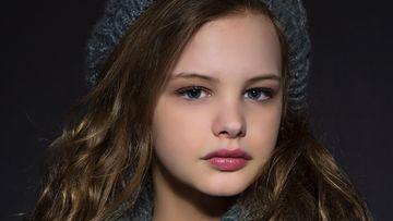 Trans child Evie Macdonald.