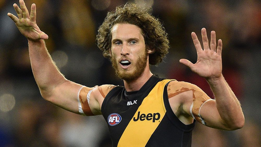 Ty Vickery is off to the Hawks. (AAP)