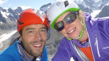 Andrew Foster, 32, was reportedly killed while trying to save the life of wife Lucy. (www.camandbearuk.com)