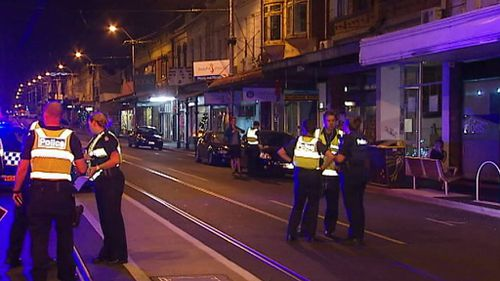 It's believed the two men who fled the taxi had been drinking. (9NEWS)
