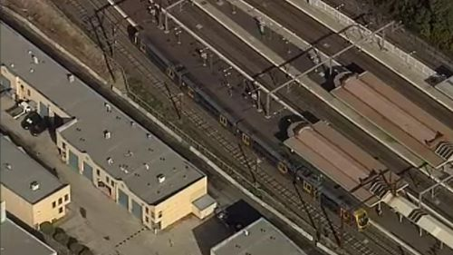 Sydney Trains employee hit and killed by a train while working on the tracks