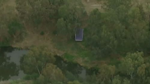 The body was found just before midday. (9NEWS)