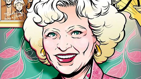 Betty White fever officially out of control: now she has her own comic book