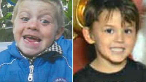 Timmy Jack Carter and Nicholas Baxter were found safe today. (Supplied)