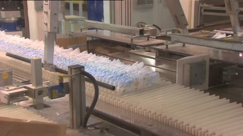 News Australia Huggies nappies production Sydney plant closed operation move to Asia