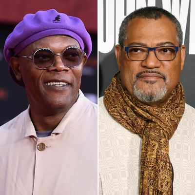 Samuel L. Jackson and Laurence Fishburne