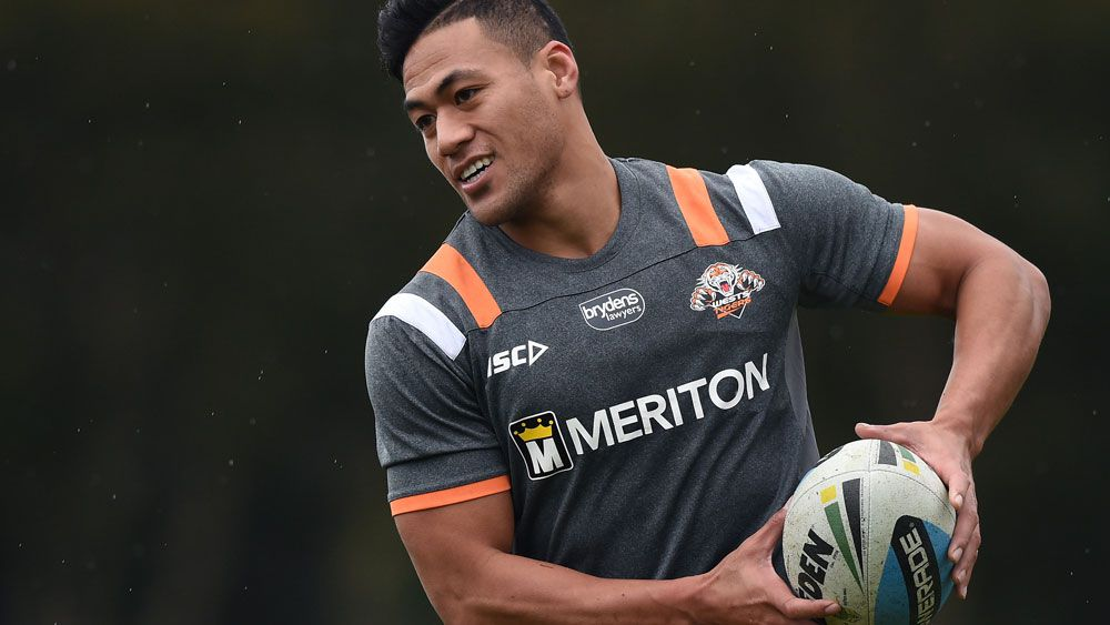 NRL's Wests Tigers centre Tim Simona.