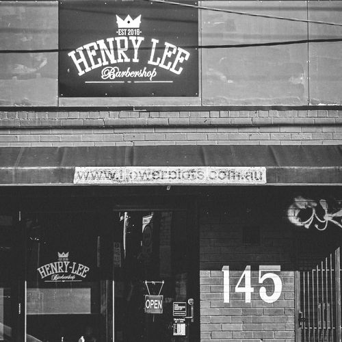 Henry Lee Barbershop in Collingwood, Melbourne, decided to close in the interest of public safety.