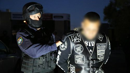 Four of those arrested also face additional charges. (NSW Police)