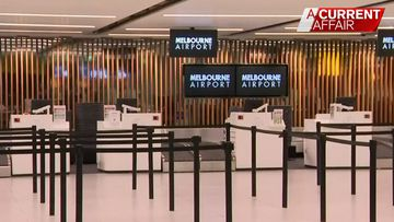 Airport terminals eerily bare as travellers heed advice