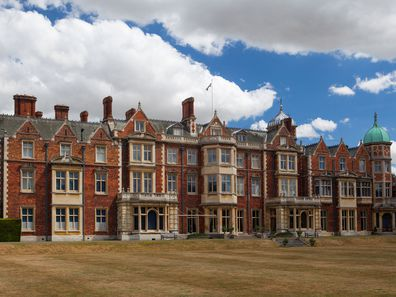 Sandringham House, the royal family's Norfolk property