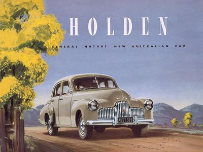 The first Aussie Holden