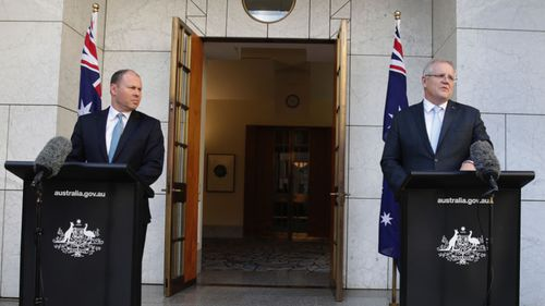 Treasurer Josh Frydenberg and Prime Minister Scott Morrison unveiled the $130 billion plan in Canberra today.