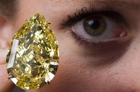 The 110-carat diamond. (AAP)