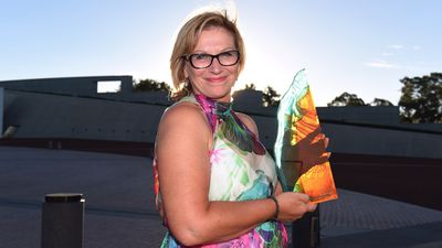 Rosie Batty has been named 2015 Australian of the Year and Victorian Australian of the Year for her work as a domestic violence campaigner. Rosie has risen above her personal tragedy and the great loss of her 11 year old son, Luke, who was the victim of domestic violence at the hands of his father in a very public assault. Rosie's story jolted Australia into recognising that family violence can happen to anyone and she has given voice to many thousands of victims of domestic violence who had until then remained unheard. Rosie now champions efforts to fight domestic violence, making many media and public speaking appearances to shine a spotlight on the issue and call for systemic changes. Her incredible strength and selfless efforts are an inspiration to many other victims of domestic violence, while her courage and willingness to speak out will make Australia a far better and safer place. (AAP)