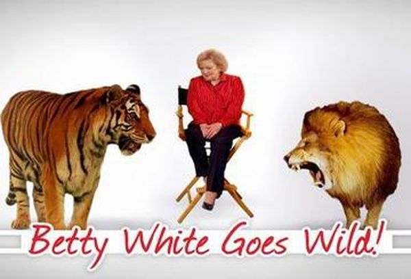 Betty White Goes Wild!
