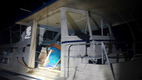 Man injured in Port Macquarie houseboat explosion