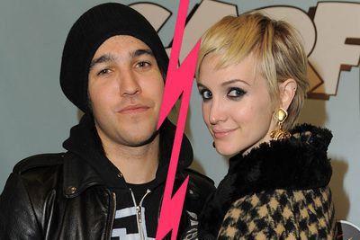 """These two were so sweet together, we thought they were tight. Ashlee Simpson filed for divorce from Pete Wentz, citing """"irreconcilable differences""""."""