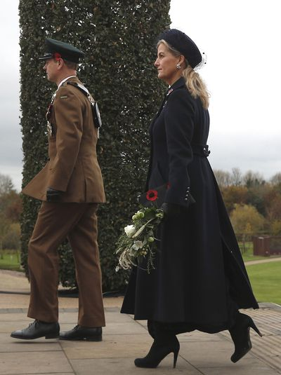 The Earl and Countess of Wessex at Remembrance Day 2020
