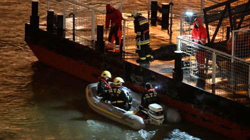 Danube River tragedy: At least seven dead, more missing as sightseeing boat sinks