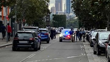 AFP in Pyrmont, Sydney