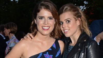 Princess Beatrice and Princess Eugenie at the Serpentine Summer Party, June 2018
