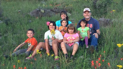 US couple adopts five siblings so they don't get separated