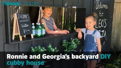 Video of the Day: Make Ronnie and Georgia's beautiful DIY cubby house