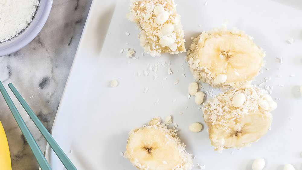 Banana puff