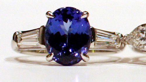 Tanzanite is known for its rich blue colour, and is one of the rarest gems in the world.