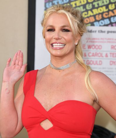 Britney Spears, red carpet, premiere