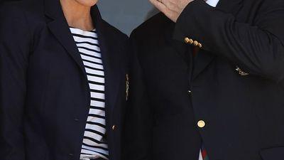 Princess Charlene nails new look