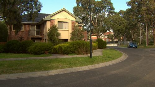 The gang fled after a neighbour heard the woman's screams and went outside. Picture: 9NEWS