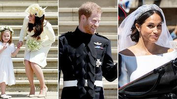 'I'm s----ing it': What you missed in the Royal Wedding