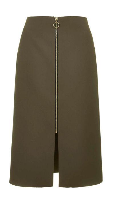 <p>The military skirt</p>