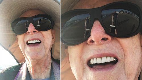 Elderly man's attempt to take couple's photo fails in adorable way