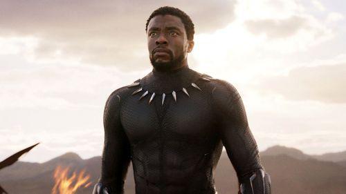 Chadwick Boseman was the star of Black Panther.
