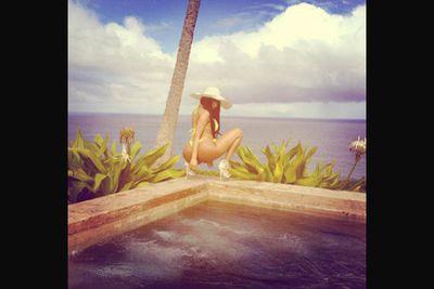 @nickiminaj: 'Have a nice day.'<br/><br/>Image: Instagram/Nicki Minaj