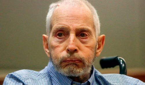 Robert Durst, 75, at his court hearing in Los Angeles. (AP).