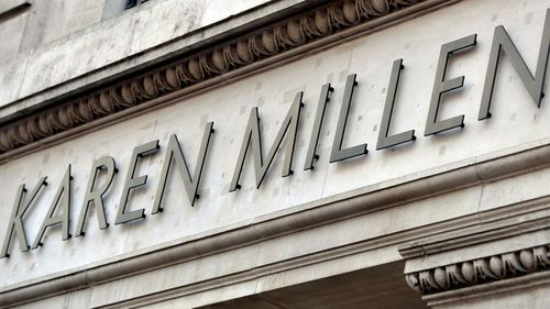 Karen Millen went out of business in the UK last month.