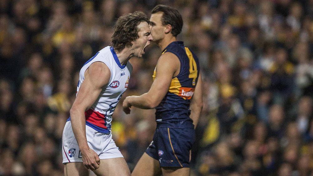 Dogs stun Eagles in AFL elimination final