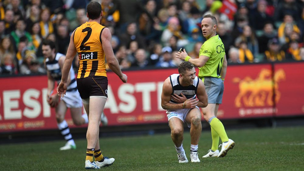 AFL determined to eliminate punching with any incident in 2018 to be penalised