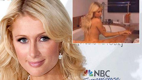 Naked Paris Hilton accused of hypocrisy