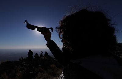 Argentina was one of many South American locations to view the solar eclipse.