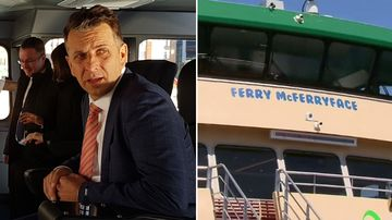 McFerry farce as Constance grilled for 'handpicked' name