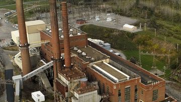 Greenidge Generation power plant now powers computer servers used for bitcoin mining.