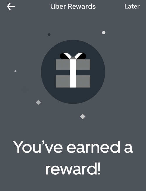 Uber has launched a rewards program for Australian customers.